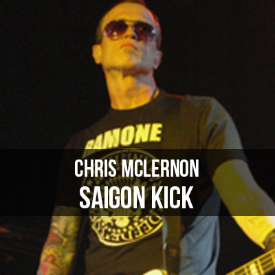 Chris McLernon Saigon Kick