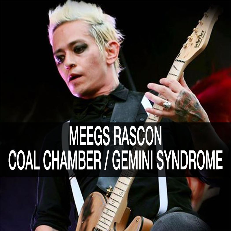 Meegs Rascon - Coal Chamber,Gemini Syndrome