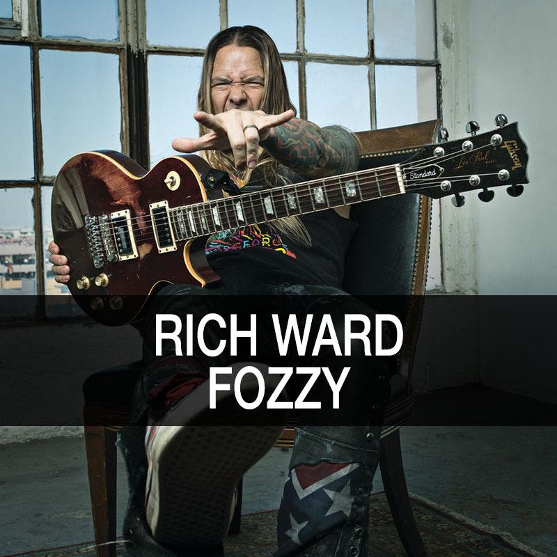 Rich Ward - Fozzy